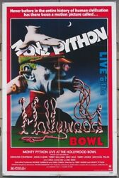 Monty Python Live At The Hollywood Bowl 1982 1sh Very Fine Folded