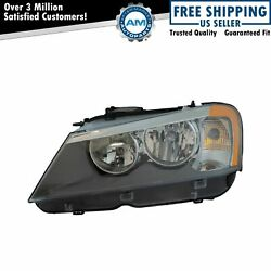 Halogen Headlight Headlamp Assembly Driver Side Lh For Bmw X3 Suv Truck New