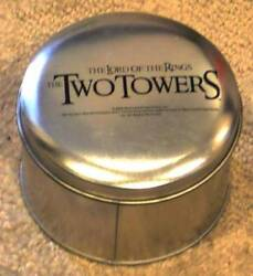 Tolkien Lord Of The Rings The Two Towers Wristwatch Watch In Gift Tin