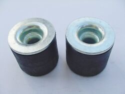 1967-1989 Gm 2 Pack Rubber Radiator Core Support Body Mount Cushion Bushings Nos