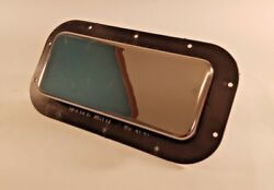 Chrome Cover For Two Way Vents Horse Trailer Camper Rv Cover Only 2wv