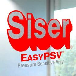 Siser Easy PSV Removable Self Adhesive Craft Vinyl 12quot; By The Yard Roll s