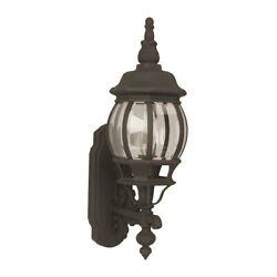 Craftmade Outdoor French Style Small Wall Mount Matte Black Z320 TB