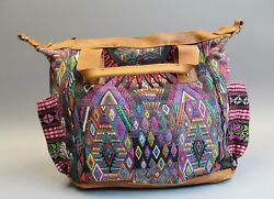 Nena & Co. Women's One of a Kind Leather Convertible Day Bag GG8 Multi-Color