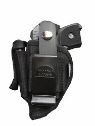 Pro-tech Side Holster plus Extra-Magazine Holder For Kel-Tec p-32p-3AT