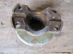 Nos 60and039s Rear End Transfer Case Front Drive Shaft Yoke 10 Spline Jeep Ford