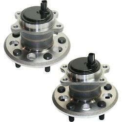Rear Wheel Bearing And Hub Assembly Lh Rh Kit Pair Set For Toyota Avalon Camry New