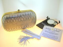JUDITH LEIBER MINAUDIERE EVENING CLUTCHBAG - USED - EXCELLENT CONDITION- 3 OF 9