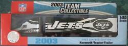 2003 New York Jets Limited Edition Tractor Trailer 180 New In Box Nib