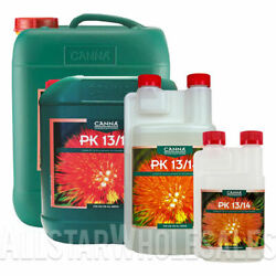 CANNA PK 13/14 Additive Hydroponic Nutrient - Bloom Booster - Fruits and Flowers