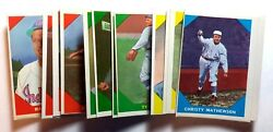 1960 Fleer Baseball Greats Trading Cards- Your Choice Ex/mt
