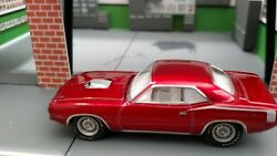 70 Plymouth Hemi Cuda 1/64 Adult Collectible Mopar Muscle Rubber Tires Rally Red
