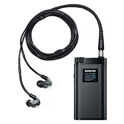 Shure KSE1500 Electrostatic Earphone System AmpDAC and Earbuds (Black)