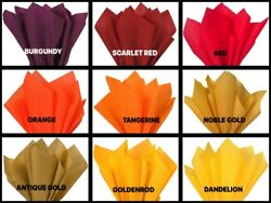 Gift Grade Tissue Paper Sheets - 15 X 20 Choose Color And Package Amount