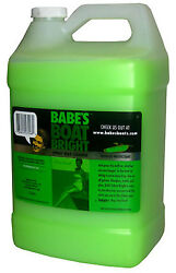 Babe's Boat Bright - Clean And Protect Your Boat's Surface - 1 Gallon - 7001