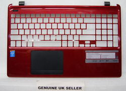 Red Acer Aspire E1-572 Cover Upper Palmrest With Touchpad