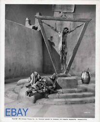 Leif Erickson Barechested Hanging From Chains Vintage Photo Arabian Nights
