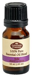 KIDS PEACE & CALM Pure Essentail Oil Blend 10ml by Fabulous Frannie Buy 3 Get 1