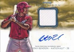 Anthony Rendon Angels 2013 Bowman Inception Auto Signed Rookie Card Rc