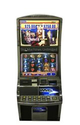 Wms Williams Bluebird 2 Video Slot Machine The King And The Sword