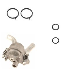 Thermostat Housing With Gasket And O-ring Kit Oes Porsche Cayenne Panamera 4.8 V8