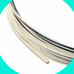 Sterling 925 Silver Square Wire Soft 14, 16,18 Gauge 1', 2', 5',10', 20' Usa