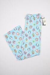 Max Studio Pajama Pants French Bulldog Pool Puppy Dog Soft Sleepwear Womens NWT