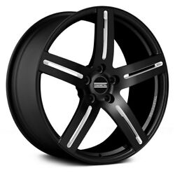 Fondmetal STC-F1 Wheels 20x9 (37 5x112 70.1) Black Rims Set of 4
