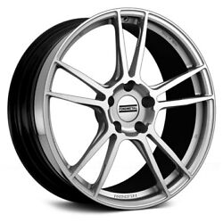 Fondmetal 9F Wheels 20x8.5 (37 5x112 57.1) Silver Rims Set of 4