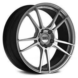 Fondmetal 9F Wheels 19x8.5 (37 5x112 66.5) Graphite Rims Set of 4