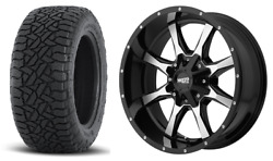 17 33 Moto Metal Fuel At Wheels Tires Package 6x120 Chevy Colorado Gmc Canyon
