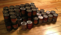 Lot Of Fifty-one 51 Vintage Tin Toy Food Cans Del Monte Cambells Etc