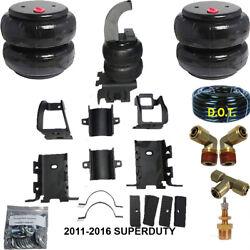 B Air Helper Spring Airbagit Bolt On 2011-2016 Ford Super Duty Over Load Level
