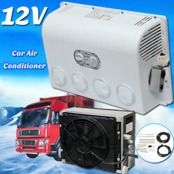 Air Conditioner Portable Home & Car Humidifier Cooler Cooling Fan + Evaporator