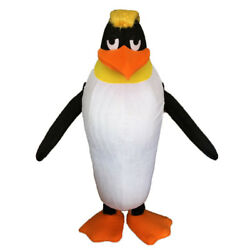 2018 Baby Penguin Mascot Costume The Antarctic Animal Black Panther Cosply Suit