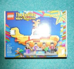 Retired Lego Ideas Beatles Yellow Submarine 21306 New Good Condition Sold Out