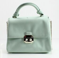 Designer Brand NEW Green Verina Crystal Pearl Lady Satchel Bag Purse $295- #450