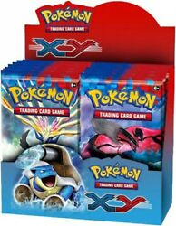 Pokemon Xy X Andamp Y Booster Box [36 Packs]