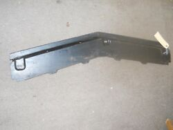 Nos 1969 Ford Mustang Front Bumper Stone Deflector
