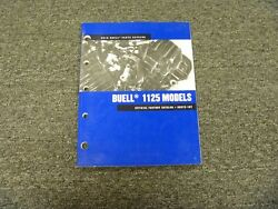2010 Buell 1125 1125r 1125cr Motorcycle Parts Catalog Book Manual