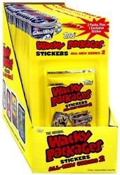 Wacky Packages 2005 Series 2 Trading Card Stickers Blister Box [40 Packs]