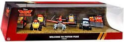 Disney Planes Fire Andamp Rescue Welcome To Piston Peak Diecast Vehicle 7-pack