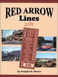 Red Arrow Lines In Color / Trains / Railroads