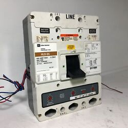Cutler-hammer Hlddc3600f Hld-dc 600a Dc Circuit Breaker Aux And Uvr And 600 Amp Trip