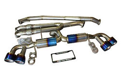 Fits Nissan Gtr R35 Top Speed Pro-1 Full Titanium Y-pipe Back Exhaust System