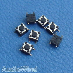 1000pcs SMD Tactile Push Button Switch, Momentary, Tact SW.