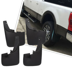 Fits 11-16 Ford F350 F450 Superduty With Fender Flares Mud Flaps Guards 4PCS