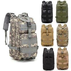 25L Outdoor Military Tactical Assault Backpack Waterproof Hiking Shoulders Pack $18.89