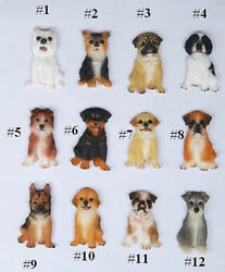 DOG BREED MAGNET Westie Yorkie Pug Spaniel Collie Rottweiler Lab Boxer German Go