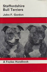 VINTAGE STAFFORDSHIRE BULL TERRIER BREED BOOK STAFFORDSHIRE BULL TERRIERS